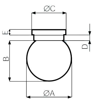 чертеж светильника в мм