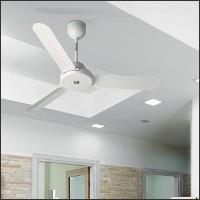потолочный вентилятор белый