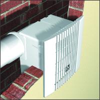 воздуховод встроенный в стену