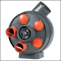 канальный вентилятор для квадратных воздуховодов