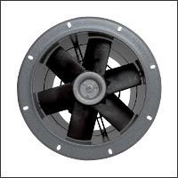 осевой промышленный вентилятор круглый