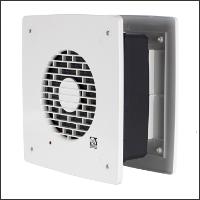вытяжной вентилятор с автоматическими жалюзи