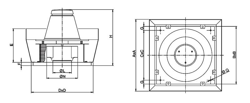 вентилятор для усиления каминной тяги